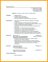 Registered Nurse Resume Templates Custom Cath Lab Nurse Resume Best Cardiac Cath Lab Registered Nurse