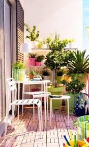 furniture for small balcony small balcony ideas with white furniture and potted plants ad small furniture ideas pursue
