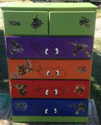 Ninja Turtle Bedroom Furniture Ninja Turtle Dresser Projects Pinterest On The Side The O