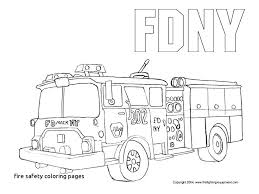Fire Safety Coloring Pages Dr Schulz