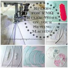 892 best Quilting Designs with Rulers images on Pinterest | Crafts ... & Using rulers to guide free motion quilting on a domestic machine is my  signature technique. Adamdwight.com