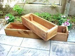 wooden window flower boxes cedar window planter box window planter box cedar window boxes decoration pallet
