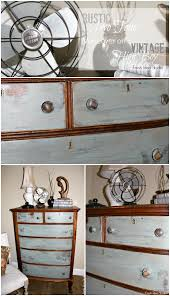 diy furniture makeover. Vintage Claw Foot High Boy Gets A Rustic Two Tone Makeover - Fresh Idea Studio Diy Furniture I
