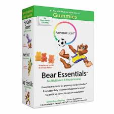 Rainbow Light Bear Essentials Multivitamin Mineral 30 Capsule