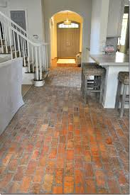 Hello Brick Floors, I think you're delightful :) | For the Home | Pinterest  | Brick flooring, Bricks and Kitchens