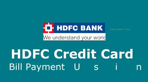 hdfc credit card bill payment with billdesk payment gateway you