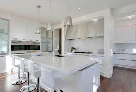 white stone kitchen countertops. Modren Stone Amazing White Quartz Kitchen Countertops Intended Stone H