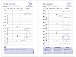 Baby Tracker Chart Baby Tracker For Newborns Round The Clock Childcare