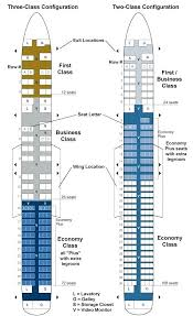 seating configurations on united airlines airliners boeing 737 plan