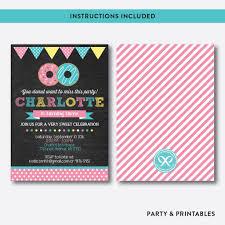 donut chalkboard kids birthday invitation editable instant donut chalkboard kids birthday invitation editable instant ckb 10
