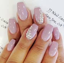 nice gel nail ideas coffin nails arttonail mauve