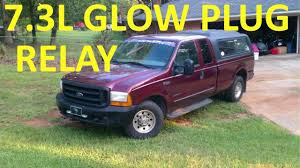 how to test glow plug relay 7 3l ford diesel how to test glow plug relay 7 3l ford diesel
