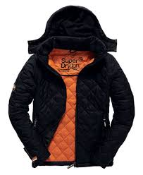 Superdry Fuji Quilt Jacket - Men's Jackets & Superdry Fuji Quilt Jacket Black Adamdwight.com