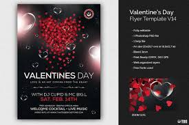 Valentines Flyers Valentines Day Flyer Template V14 Free Posters Design For Photoshop