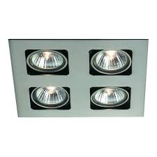artemis recessed 4 light halogen spot light