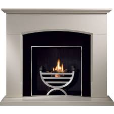 gallery dacre stone fireplace optional cottage fire basket