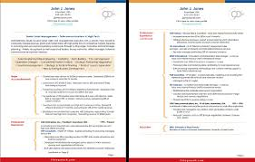 Examples Of 2 Page Resumes Sample E Page Resume Sample Resume ...