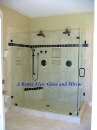 how to install frameless shower door installing a glass shower door shower glass door with large how to install