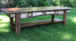 adirondack coffee table custom harvest table foot antique pine oak black ash coffee table bobs adirondack