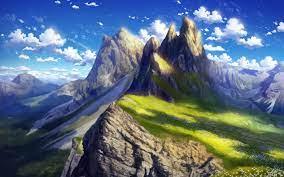 2880x1800 Anime Landscape 4k Macbook ...