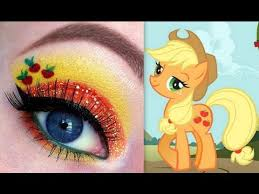 my little pony s applejack makeup tutorial