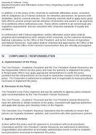 Executive Order 11247 Affirmative Action Program
