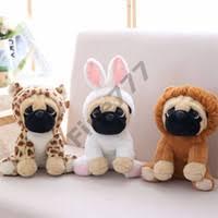 whole pug gifts pug plush toy cute soft stuffed doll dog cosplay