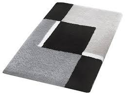 small bath rug modern anti skid bathroom rug gray