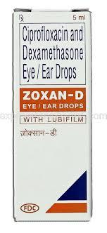 microflox dx generic ciprodex ciprofloxacin dexamethasone 0 3 0 1 10
