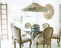 eclectic dining room by mina brinkey
