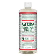 Sal Suds Dilution Chart Dr Bronners Sal Suds Biodegradable Cleaner 32 Ounce