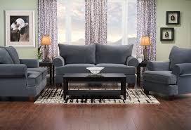 The Brick Living Room Furniture Paige Microsuede Sofa Grey The Brick