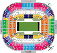 Rfk Concert Seating Chart Nfl Stadium Seating Charts Stadiums Of Pro Football