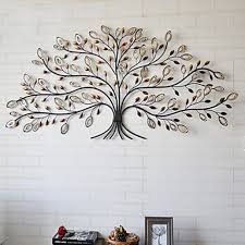on wall art trees metal with metal wall art tree of life
