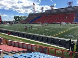 Mcmahon Stadium Section N Home Of Calgary Stampeders