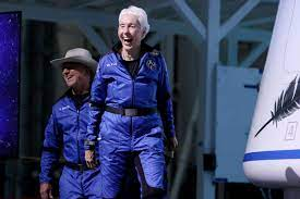 Jeff Bezos Goes to Space. Day Two ...