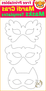 Print out this free mardi gras mask template from kids activities blog along with matching feather, heart you can then use your imagination to color and decorate the mask so it looks just the way you like. Mardi Gras Masks Templates With Free Printables Basic Care For Beautiful Womans