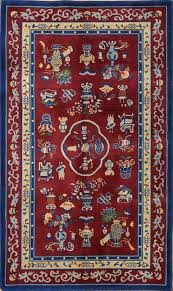 4 11 x 8 4 hand knotted wool semi antique chinese art deco peking rug 12980508 goodluck rugs
