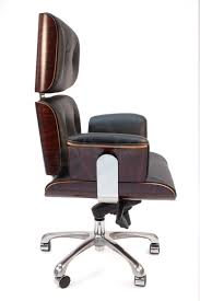 milan direct replica eames executive office. Replica Eames High Back Executive Office Chair Black Milan Direct T