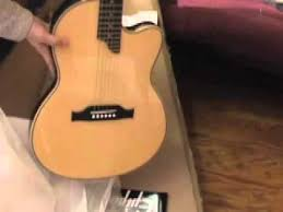 epiphone sst studio electric acoustic guitar unboxing review mov epiphone sst studio electric acoustic guitar unboxing review mov
