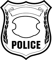 Small Picture Coloring Pages Online Police Badge Drawing New At Decor Animal