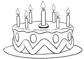 Birthday Cake Colouring Trustbanksurinamecom