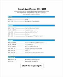 Download Simple Meeting Agenda Off Site Template