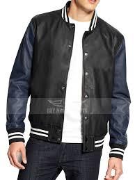 Varsity Letterman American Rag Leather Jacket