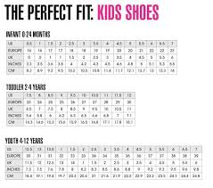 Under Armour Child Size Chart