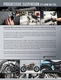 Progressive Suspension Fitment Chart Progressive Suspension 2017 Catalog For Harley Davidson