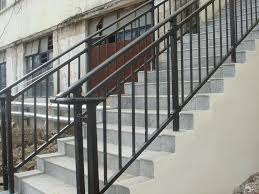 Rustic wrought iron stair railings glazed balustrade balustrades prices. Handrail Installation Iron Handrail Metal Handrail Stairway Railing