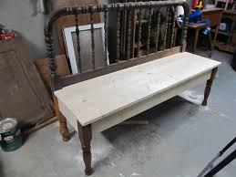 Headboard To Bench Bench Tutorial My Repurposed Life