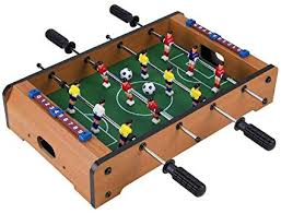 Miniature Wooden Foosball Table Game