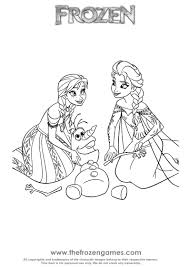 Small Picture Coloring Pages The Frozen Coloring Pages Free Coloring Pages Anna